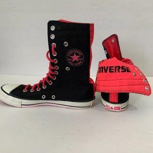 Converse All Stars Chuck Taylor Black Pink High